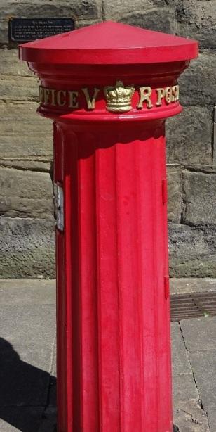An early Victorian pillar box in Warwick