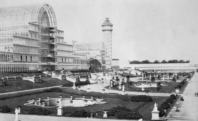 Crystal Palace, Sydenham 1854
